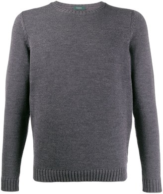 Zanone interlock knit jumper