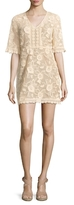 Plenty by Tracy Reese Lace Drawstring Mini Dress