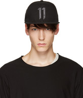 11 By Boris Bidjan Saberi Black Logo 11 Cap