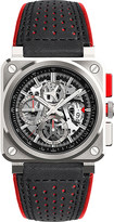 Bell & Ross br03 aviation aerogt stainless steel watch