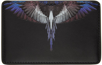 Marcelo Burlon County of Milan Black Wings Card Holder