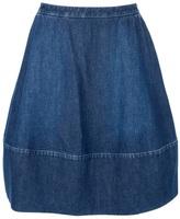 Stella McCartney denim bell skirt