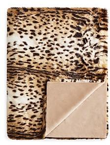 Hudson Park Collection Hudson Park Animal Collection Faux Fur Throw - 100% Exclusive