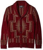 Pendleton Men's Tk Harding Shawl Sweater