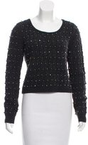 Alice + Olivia Embellished Wool Sweater w/ Tags