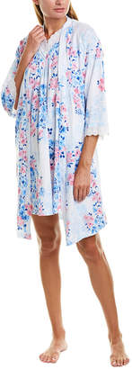 Carole Hochman 2Pc Nightgown & Robe Set