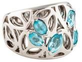 Di Modolo Crystal Ricamo Cutout Ring
