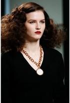 Bottega Veneta Necklace with porcelain medallion