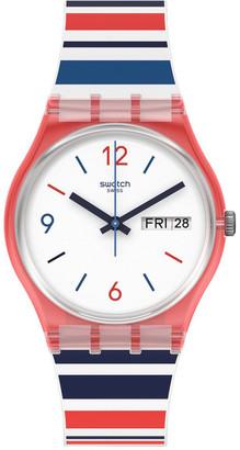 Swatch Sea Barcode Watch