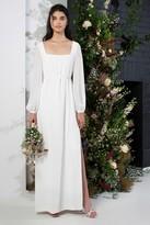 French Connenction Aadina Crepe Column Wedding Dress