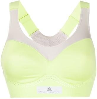 adidas by Stella McCartney two-tone sports bra