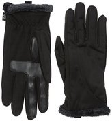 Isotoner Women's Softshell smarTouch Gloves