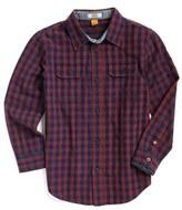 Tailor Vintage Toddler Boy's Check Print Woven Shirt