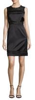 Bailey 44 Lace Contrast Sheath Dress