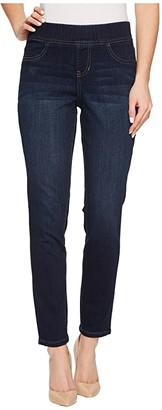 Jag Jeans Marla Pull-On Denim Leggings (Dark Indigo) Women's Jeans
