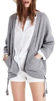 Madewell Women's Side Lace-Up Cardigan