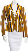 DSQUARED2 Striped Textured Blazer