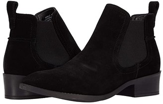 Steve Madden Direct Booties (Black Suede) Women's Boots