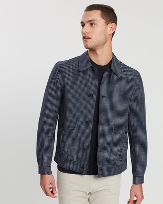 Gieves And Hawkes Check Blouson
