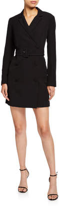 Laundry by Shelli Segal Double-Breasted Blazer Dress