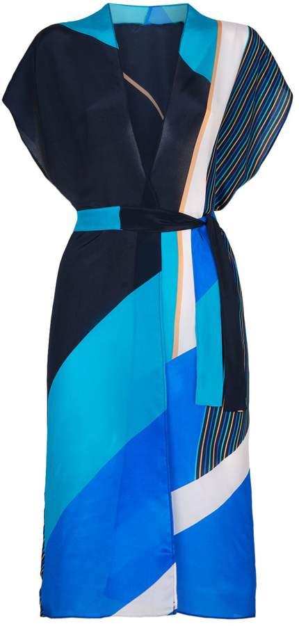Gottex Maritime Belted Kimono
