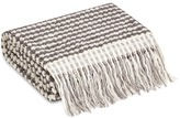 Hamam Payas bath towel - Oyster/Dark Grey
