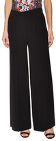 Mary Katrantzou Donis Silk Pleated Wide Leg Trouser