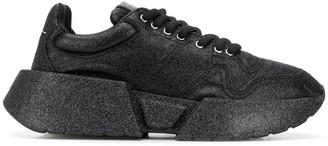 MM6 MAISON MARGIELA Glitter Chunky Sole Sneakers