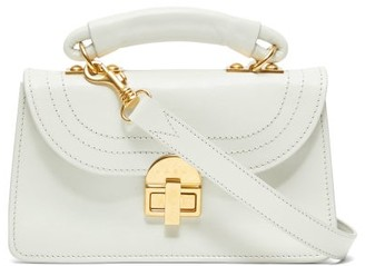 Marni Juliette Top-handle Leather Cross-body Bag - White