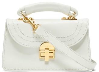 Marni Juliette Top-handle Leather Shoulder Bag - White