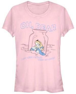 Fifth Sun Women's Alice in Wonderland Dear Tears Short Sleeve T-shirt