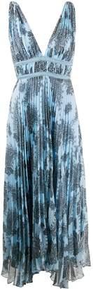 Sandro Paris paisley empire line dress