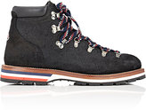 Moncler Men's Oiled Suede Hiking Boots