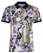 Versace Lilly Baroque Polo Shirt