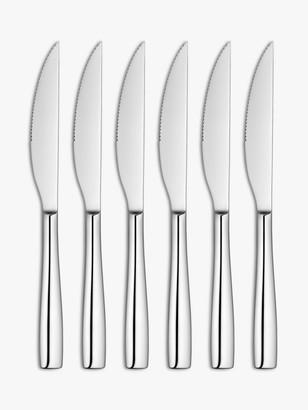 John Lewis & Partners Edge Steak Knives, Set of 6