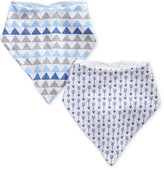 First Impressions 2-Pk. Printed Bandana Bibs, Baby Boys (0-24 months), Created for Macy's