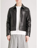 McQ Bondage leather biker jacket