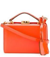Mark Cross mini Grace Box crossbody bag - women - Calf Leather/Lamb Skin - One Size
