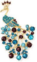 MONET JEWELRY Monet Crystal Peacock Pin