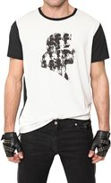Karl Lagerfeld Techno Jersey Silhouette T-Shirt