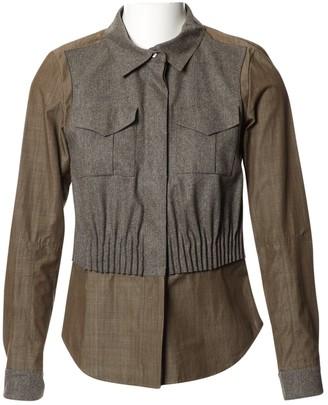 Louis Vuitton Grey Wool Top for Women Vintage