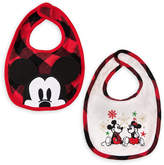 Disney Mouse Holiday Bib Set for Baby - 2-Pack