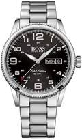 HUGO BOSS Men's Pilot Stainless Steel Bracelet Watch, 44mm