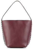 Givenchy Infinity Bucket leather tote