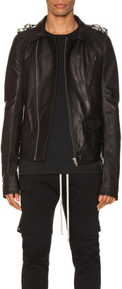 Rick Owens Stooges Jacket in Black | FWRD