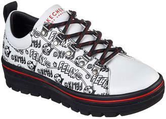 Skechers Women's Sneakers WBK - White & Black Felix the Cat Street Cleat 2 Sneaker - Women
