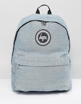 Hype Washed Denim Backpack