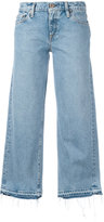 Simon Miller cropped flared jeans - women - Cotton - 24