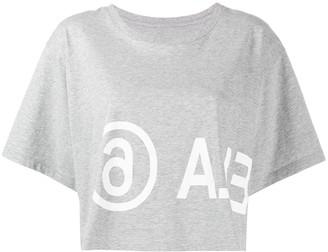 MM6 MAISON MARGIELA cropped T-shirt