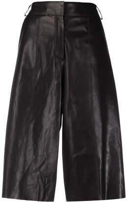 Arma High Rise Cropped Trousers